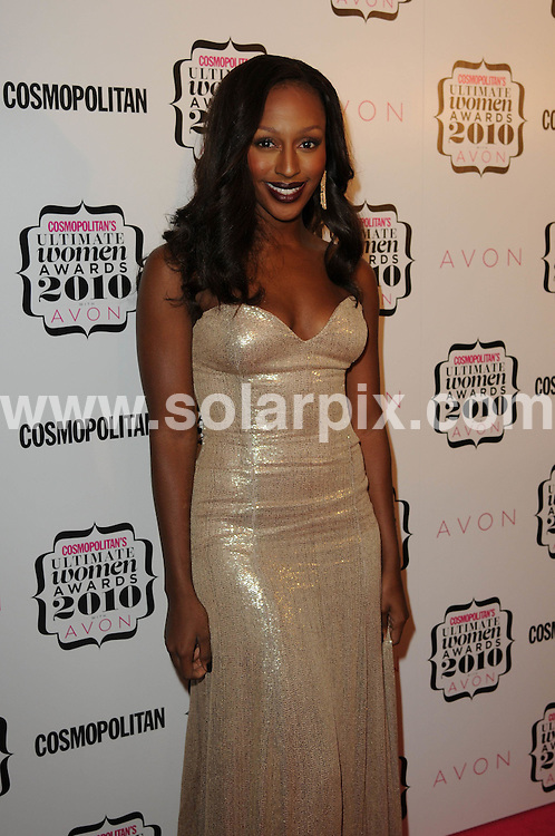 **ALL ROUND PICTURES FROM SOLARPIX.COM**                                             **WORLDWIDE SYNDICATION RIGHTS**                                                                                  Caption: Inside arrivals at the Cosmopolitan Ultimate Woman Awards 2010. Held at the Banqueting House, Whitehall, London, on Tuesday November 02, 2010                                                                              This pic:  Alexandra Burke                                                                                JOB REF: 12422        MSR       DATE: 02_11_2010                                                            **MUST CREDIT SOLARPIX.COM OR DOUBLE FEE WILL BE CHARGED**                                                                      **MUST AGREE FEE BEFORE ONLINE USAGE**                               **CALL US ON: +34 952 811 768 or LOW RATE FROM UK 0844 617 7637**.