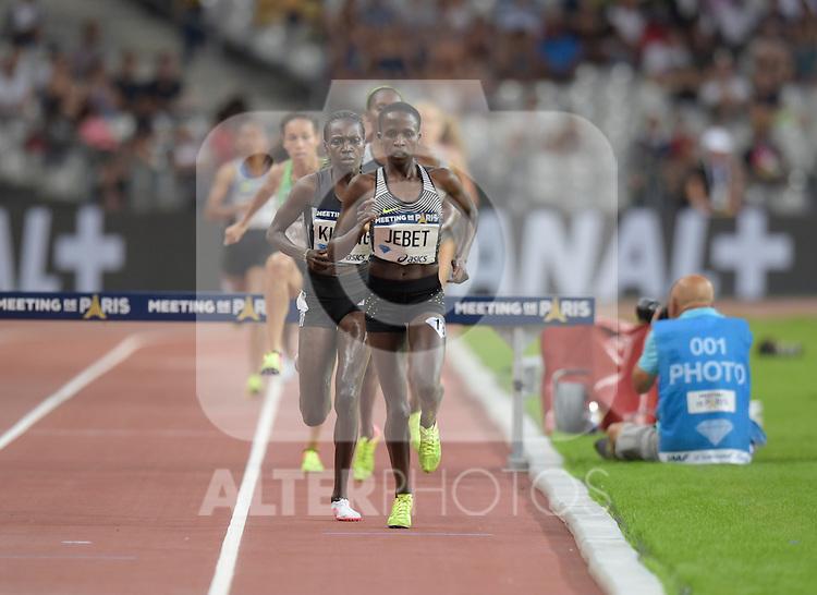 Ruth Jebet ( 3000m steeplechase femmes )