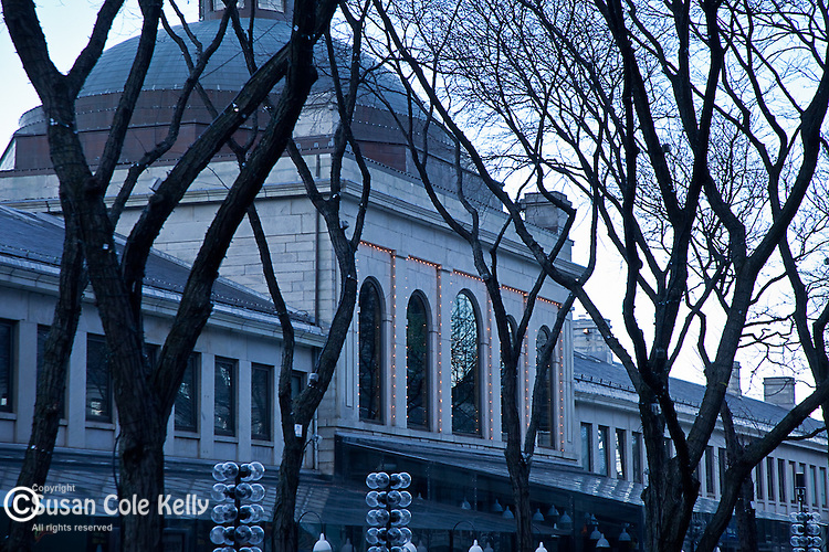 Quincy Market, Faneuil Hall Marketplace, Boston, MA