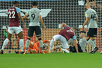 Andriy Yarmolenko of West Ham United goal is disaloud during West Ham United vs Charlton Athletic, Caraboa Cup Football at The London Stadium on 15th September 2020
