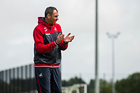 Wednesday 26 July 2017<br /> Pictured: Manager of Swansea City, Paul Clement during training <br /> Re: Swansea City FC Training session takes place at the Fairwood Training Ground, Swansea, Wales, UK