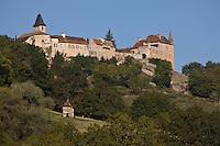 Europe/France/Midi-Pyrénées/46/Lot/Loubressac: ce bourg fortifié domine la vallée de la Dordogne - Les Plus Beaux Villages de France