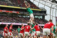 Saturday 8th February 2020 | Ireland vs Wales<br /> <br /> Iain Henderson during the 2020 6 Nations Championship   clash between Ireland and Wales at he Aviva Stadium, Lansdowne Road, Dublin, Ireland. Photo by John Dickson / DICKSONDIGITAL