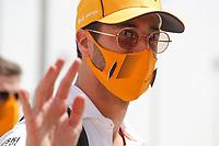 26th March 2021; Sakhir, Bahrain; F1 Grand Prix of Bahrain, Free Practice sessions;  RICCIARDO Daniel (aus), McLaren MCL35M,  during Formula 1 Gulf Air Bahrain Grand Prix