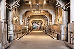 Boiler Room, Seattle, WA, Georgetown Steam Plant, a National Historic Landmark in Seattle, WA USA