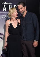 Gretchen Mol + Todd Williams @ the HULU premiere of 'Chance' held @ the Harmony Gold. October 17, 2016 , Hollywood, USA. # PREMIERE DE LA SERIE 'CHANCE' A HOLLYWOOD