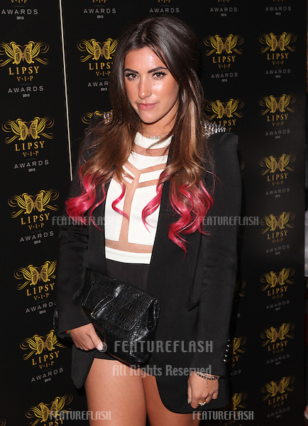 Gabriella Ellis arriving for the Lipsy Fashion Awards,  at Dstrkt, London. 29/05/2013 Picture by: Alexandra Glen / Featureflash