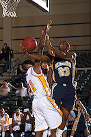 SAN ANTONIO, TX - JANUARY 15, 2009: The St. Edward's University Hilltoppers vs. the St. Mary's University Rattlers Men's Basketball at Bill Greehey Arena. (Photo by Jeff Huehn)