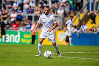Leon Britton of Swansea City in action during the Pre Season friendly match between Swansea City and Rovers played at the Memorial Stadium, Bristol on July 23rd 2016