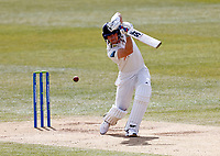 Kent's Joe Denly bats during Kent CCC vs Yorkshire CCC, LV Insurance County Championship Group 3 Cricket at The Spitfire Ground on 18th April 2021