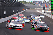 NASCAR XFINITY Series<br /> Lilly Diabetes 250<br /> Indianapolis Motor Speedway, Indianapolis, IN USA<br /> Saturday 22 July 2017<br /> Joey Logano, Discount Tire Ford Mustang and Kyle Busch, NOS Energy Drink Rowdy Toyota Camry<br /> World Copyright: Russell LaBounty<br /> LAT Images