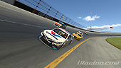 #77: Parker Kligerman, Burton Kligerman eSports, Toyota Camry<br /> <br /> (MEDIA: EDITORIAL USE ONLY) (This image is from the iRacing computer game)