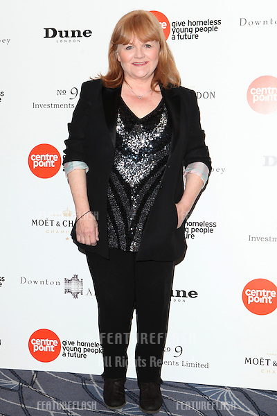 Lesley Nicol arriving for the Downton Abbey Ball, The Savoy, London.  30/04/2015 Picture by: Alexandra Glen / Featureflash