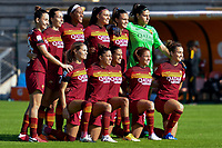 AS Roma team line up during the women Serie A football match between AS Roma and ACF Fiorentina at Tre Fontane Stadium in Roma (Italy), November 7th, 2020. Photo Andrea Staccioli / Insidefoto