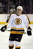 February 17th 2007:  Mark Mowers (18) of the Boston Bruins vs. the Buffalo Sabres at HSBC Arena in Buffalo, NY.  The Bruins defeated the Sabres 4-3 in a shootout.