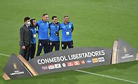MEDELLIN - COLOMBIA, 18-03-2021: Atlético Nacional de Colombia y Guaraní de Paraguay en partido por la fase 2 vuelta como parte de la Copa CONMEBOL Libertadores 2021 jugado en el estadio Atanasio Girardot de la ciudad de Medellín. / Atlético Nacional of Colombia and Guarani of Paraguay in match for the phase 2, second leg, as part of CONMEBOL Libertadores Cup 2021 played at Atanasio Girardot stadium in Medellín city. Photo: VizzorImage / Luis Benavides / Cont