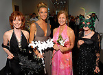 Chairs Marcy Taub Wessel, Janet Hobby, Leslie Elkins Sasser and Louisa Stude Sarofim at the 20th Anniversary Gala at the Menil Friday April 20,2007.(Dave Rossman/For the Chronicle)
