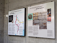 Brückenkopfmuseum Via Claudia Augusta, Algund bei Meran, Region Südtirol-Bozen, Italien, Europa<br /> bridge head museum Via Claudia Augusta, Lagundo near Merano, Region South Tyrol-Bolzano, Italy, Europe