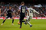 Real Madrid's Vinicius Jr. during La Liga match between Real Madrid and Real Valladolid at Santiago Bernabeu Stadium in Madrid, Spain. November 03, 2018. (ALTERPHOTOS/A. Perez Meca)