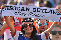 Santa Clara, CA - Friday June 03, 2016: Fans during a Copa America Centenario Group A match between United States (USA) and Colombia (COL) at Levi's Stadium.
