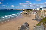 Grossbritannien, England, Cornwall, bei Newquay: Klippen an Cornwalls Nordkueste | United Kingdom, England, Cornwall, Near Newquay: cliffs at Cornwall's north coast