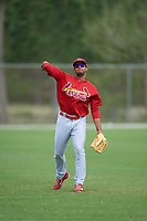 St. Louis Cardinals right fielder Ricardo Bautista (21) during a Minor League Spring Training intrasquad game on March 31, 2016 at Roger Dean Sports Complex in Jupiter, Florida.  (Mike Janes/Four Seam Images)