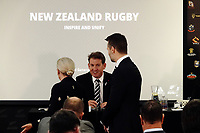 NZ Rugby chief executive Mark Robinson. The 2021 New Zealand Rugby Annual General Meeting at the New Zealand Rugby House in Wellington, New Zealand on Thursday, 29 April 2021. Photo: Dave Lintott / lintottphoto.co.nz