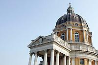 Una veduta della Basilica di Superga, a Torino.<br /> Exterior view of the Basilica of Superga, in Turin.<br /> UPDATE IMAGES PRESS/Riccardo De Luca