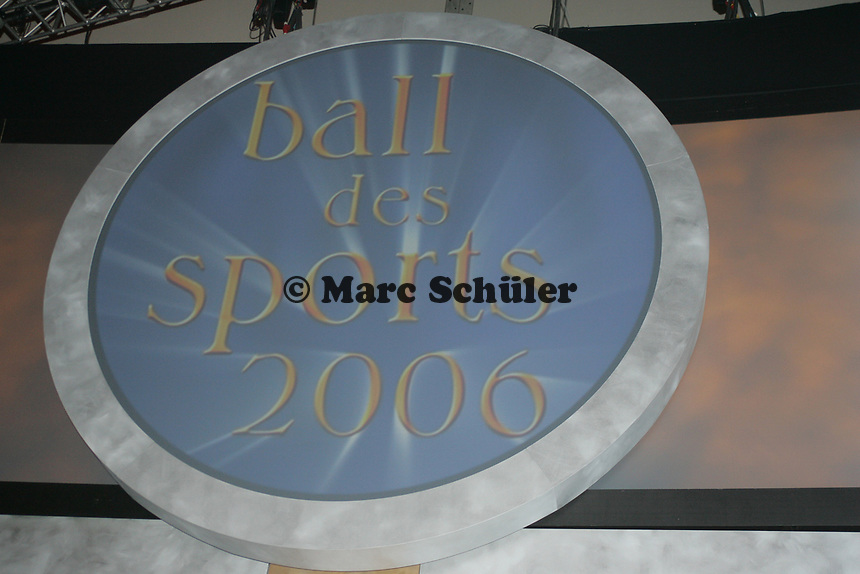 Logo des Ball des Sports 2006