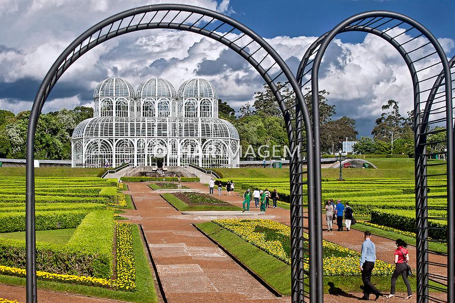 Jardim Botanico da cidade de Curitiba. Parana. 2011. Foto de Sergio Amaral.