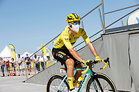 9th September 2020, Chatelaillon Plage to Poitiers, France; 107th Tour de France Cycling tour, stage 11;  Jumbo - Visma Roglic, Primoz Chatelaillon Plage