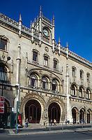 Portugal, Bahnhof Rossio in Lissabon