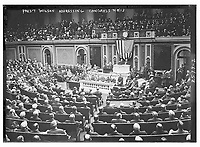 Pres. Wilson addressing Congress<br /> <br /> 4-8-1913