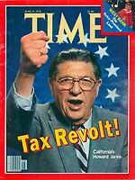 Time cover, Howard Jarvis, June 19, 1978. Photo by John G. Zimmerman.