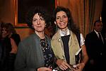 """MARELLINA CARACCIOLO CON LALLA FRANZAN<br /> PRESENTAZIONE LIBRO """" I ROCCALTA"""" DI EDVIGE SPAGNA<br /> PALAZZO TAVERNA ROMA 2008"""