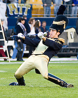 21 October 2006: Pitt Drum Major..The Rutgers Scarlet Knights defeated the Pitt Panthers 20-10 on October 21, 2006 at Heinz Field, Pittsburgh, Pennsylvania.
