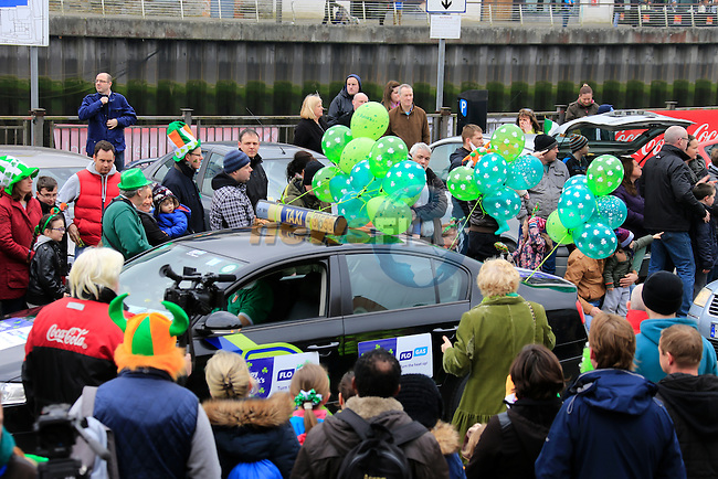 during the St Patricks Day parade in town<br /> Picture www.newsfile.ie