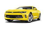 Stock pictures of low aggressive front three quarter view of 2018 Chevrolet CAMARO 2LT 2 Door coupe Low Aggressive