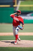 Philadelphia Phillies pitcher Alberto Tirado (47) during an Instructional League game against the New York Yankees on September 27, 2016 at Bright House Field in Clearwater, Florida.  (Mike Janes/Four Seam Images)