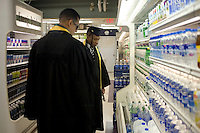 3 June 2011, Cambridge, MA - MIT Commencement..Graduating students buy drinks at La Verde's Market in the Stratton Student Center before the 2011 commencement ceremony at the Massachusetts Institute of Technology. ...Photo by M. Scott Brauer for MIT News