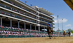 April 30, 2021 : Maxfield, #6, ridden by jockey Jose L. Ortiz, wins the Alysheba Graded Stakes on Kentucky Oaks Day at Churchill Downs on April 30, 2021 in Louisville, Kentucky. Scott Serio/Eclipse Sportswire/CSM