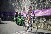 Jarlinson Pantano (COL/IAM) up the Lacets du Grand Colombier (Cat1/891m/8.4km/7.6%)<br /> <br /> stage 15: Bourg-en-Bresse to Culoz (160km)<br /> 103rd Tour de France 2016