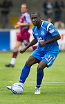 St Johnstone FC...Season 2010-11.Cleveland Taylor.Picture by Graeme Hart..Copyright Perthshire Picture Agency.Tel: 01738 623350  Mobile: 07990 594431