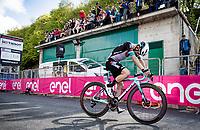 Simon Yates (GBR/Bike Exchange) wins the stage finishing up the Alpe di Mera (1560m)<br /> <br /> 104th Giro d'Italia 2021 (2.UWT)<br /> Stage 19 from Abbiategrasso to Alpe di Mera (Valsesia)(176km)<br /> <br /> ©kramon