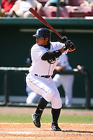 March 19th 2008:  Akinori Iwamura of the Tampa Bay Devil Rays during a Spring Training game at Al Lang Field in St. Petersburg, FL.  Photo by:  Mike Janes/Four Seam Images