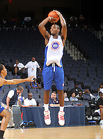 Branden Dawson at the NBPA Top100 camp June 19, 2010 at the John Paul Jones Arena in Charlottesville, VA. Visit www.nbpatop100.blogspot.com for more photos. (Photo © Andrew Shurtleff)