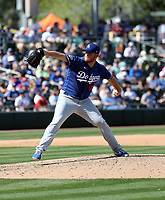 Caleb Ferguson - Los Angeles Dodgers 2020 spring training (Bill Mitchell)