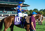 LEXINGTON, KY - OCTOBER 8: Photo Call #10, ridden by Kent Desormeaux, wins the First Lady S. at Keeneland Racecourse on October 8, 2016 in Lexington, KY. (Photo by Sophie Shore/Eclipse Sportswire/Getty Images)