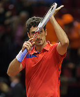15-sept.-2013,Netherlands, Groningen,  Martini Plaza, Tennis, DavisCup Netherlands-Austria, ,   <br /> Photo: Henk Koster