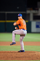 St. Lucie Mets pitcher Tyler Bashlor (25) during the Florida State League All-Star Game on June 17, 2017 at Joker Marchant Stadium in Lakeland, Florida.  FSL North All-Stars defeated the FSL South All-Stars  5-2.  (Mike Janes/Four Seam Images)